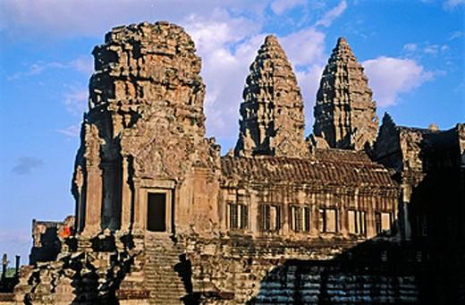 Stock Photo: 1566-0106813 Angkor Wat. Angkor. Siem Reap. Cambodia