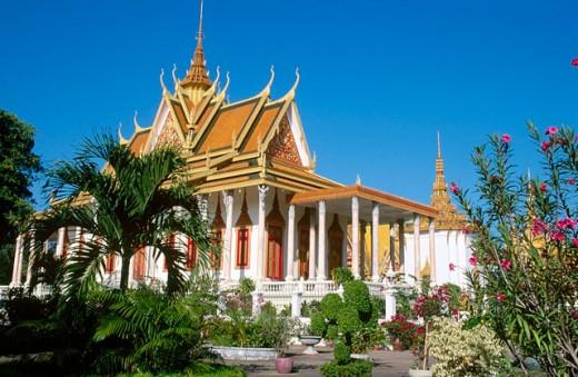 Stock Photo: 1566-0106830 Royal Palace. Phnom Penh. Cambodia