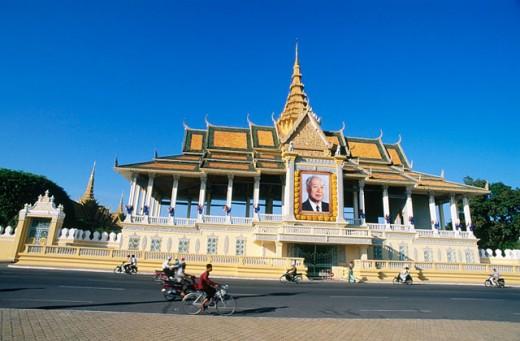 Royal Palace. Phnom Penh. Cambodia : Stock Photo