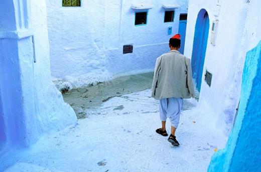 Stock Photo: 1566-0106953 Chechaouene. Rif region, Morocco