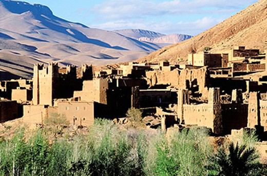 Ait Arbi Kasbah, Dades Valley. High Atlas, Morocco : Stock Photo