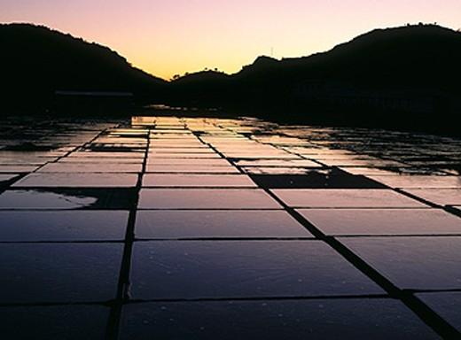 Oro salt mines. Navarre. Spain : Stock Photo