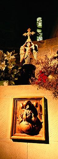 San Miguel de Aralar. Aralar mountains, Navarra. Spain : Stock Photo