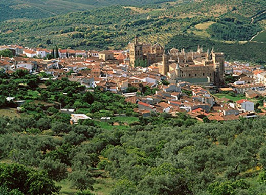 Stock Photo: 1566-0108570 Guadalupe. Las Villuercas. Caceres province. Extremadura. Spain
