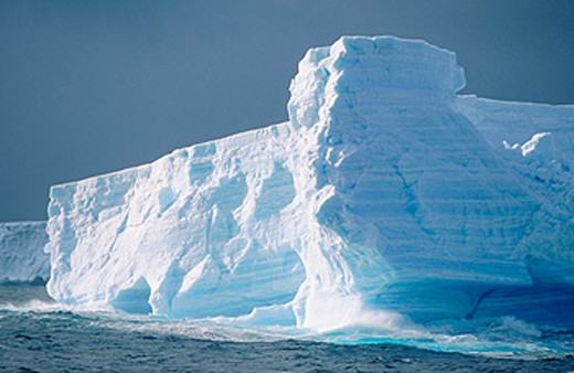 Stock Photo: 1566-0109411 Iceberg. Antarctica