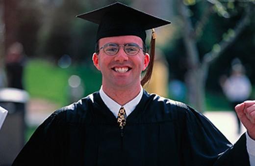 College Graduate : Stock Photo