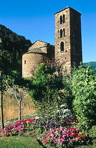 Stock Photo: 1566-0110517 Church of Sant Joan de Caselles. Andorra