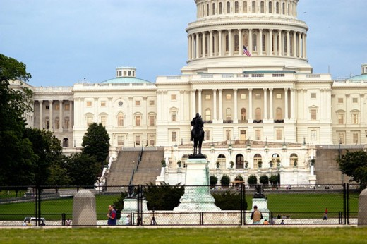 Capitol Building. Washington D.C. USA : Stock Photo