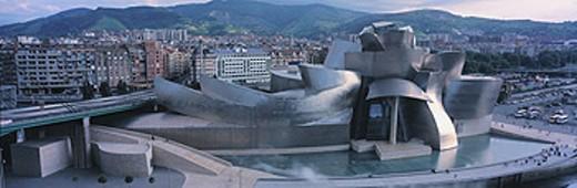 Stock Photo: 1566-0117873 Guggenheim Museum. Bilbao. Vizcaya. Spain