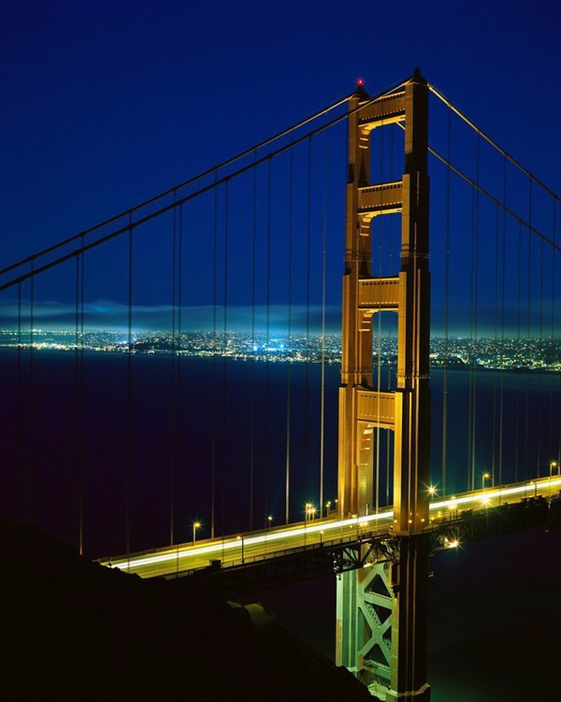 Stock Photo: 1566-0119647 Golden Gate bridge. San Francisco. CA. USA