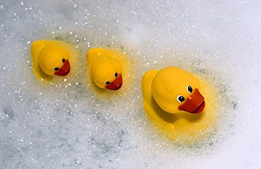 Stock Photo: 1566-0122850 Rubber ducks