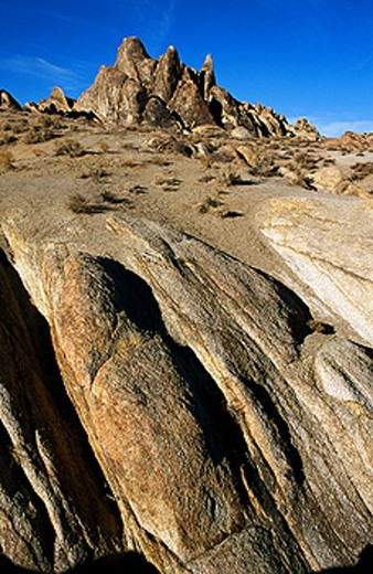 Stock Photo: 1566-0122856 Alabama Hills. California. USA