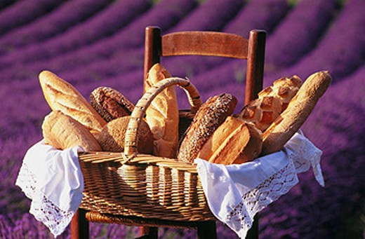 Breads. Provence. France : Stock Photo