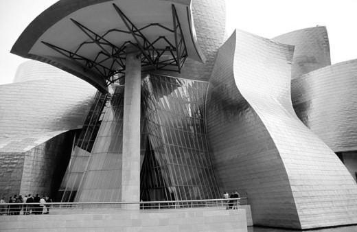 Guggenheim Museum. Bilbao. Basque Country. Spain : Stock Photo