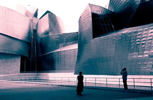Stock Photo: 1566-0129670 Guggenheim Museum. Bilbao. Euskadi. Spain