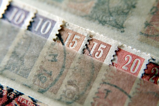 Stock Photo: 1566-0129834 Postage stamps