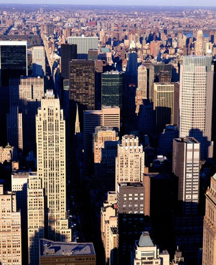 Stock Photo: 1566-0130964 Manhattan, view from the top of Empire State Building. New York City. USA