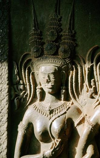 Angkor Wat Temple. Cambodia : Stock Photo