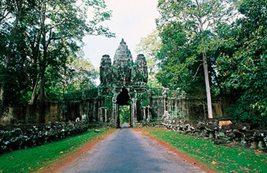 Angkor. Cambodia : Stock Photo