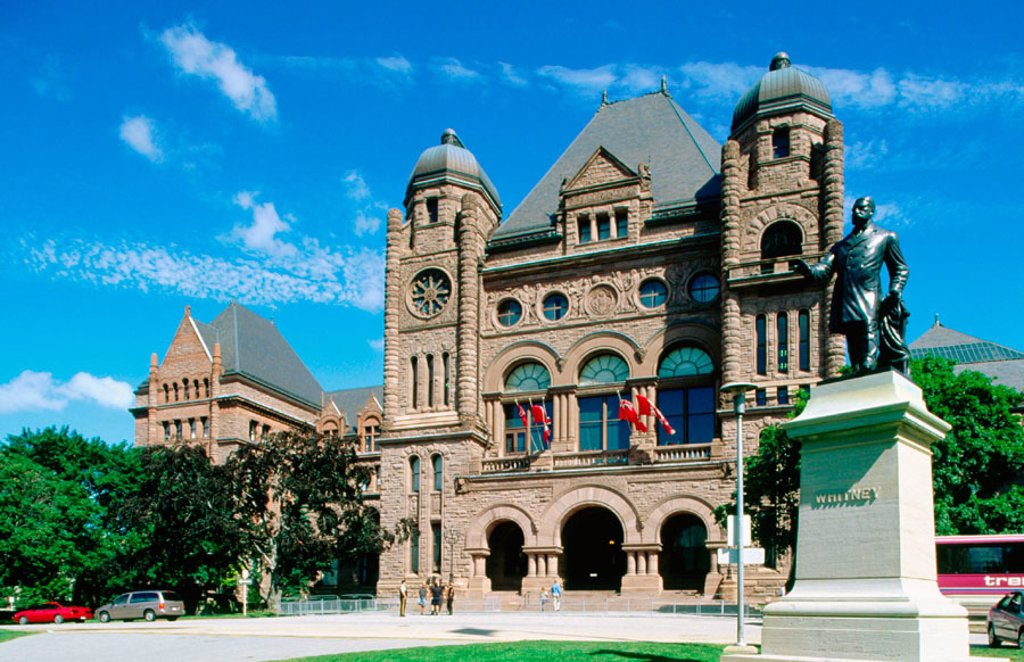 Stock Photo: 1566-0131305 Ontario Regional Parliament House. Toronto. Canada