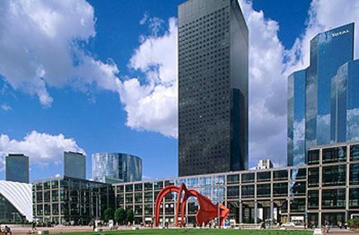 Stock Photo: 1566-0131814 District of ´La Defense´ in Paris