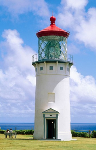 The Kilauea Lighthouse. Kilauea. Kauai. Hawaii. USA : Stock Photo