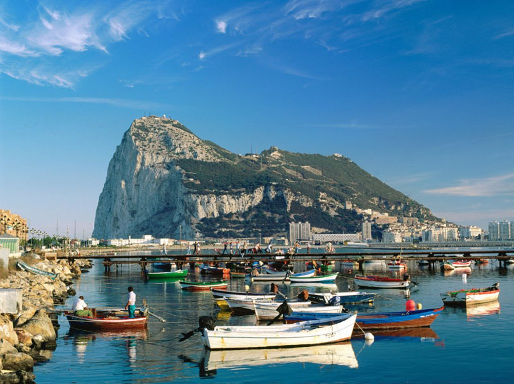 Stock Photo: 1566-0137394 Gibraltar. UK