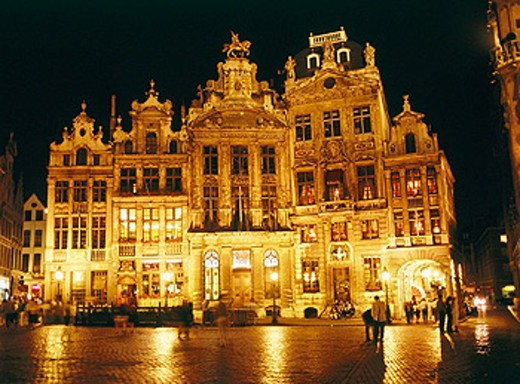 Stock Photo: 1566-0137395 Grand Place. Brussels. Belgium