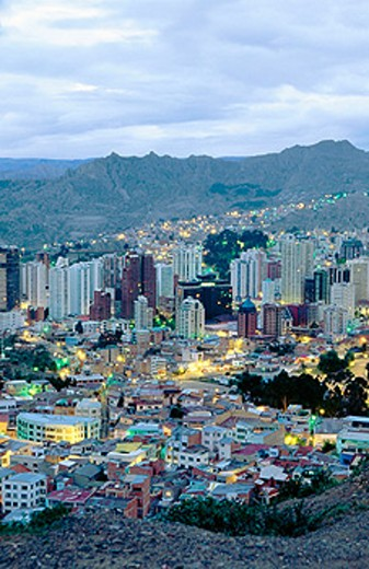 La Paz. Bolivia : Stock Photo