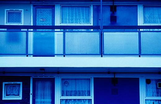 Flats in Hackney, London, England : Stock Photo