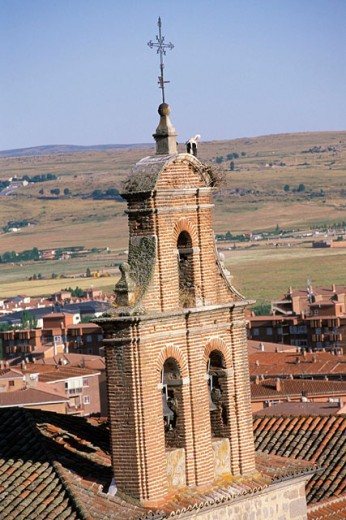 Stock Photo: 1566-0141210 Bell tower. Ávila. Spain
