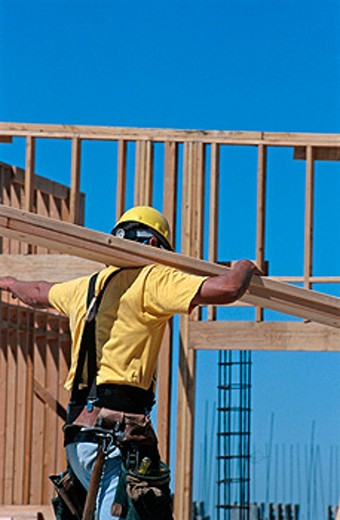 Carpenter. Folsom, California. USA. : Stock Photo