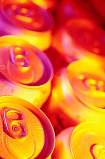 Soda cans : Stock Photo