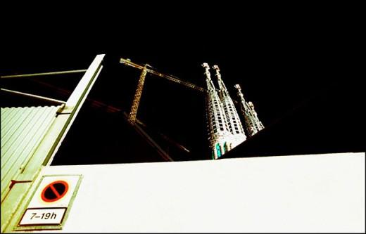 Stock Photo: 1566-0147281 Sagrada Familia temple. Barcelona. Spain