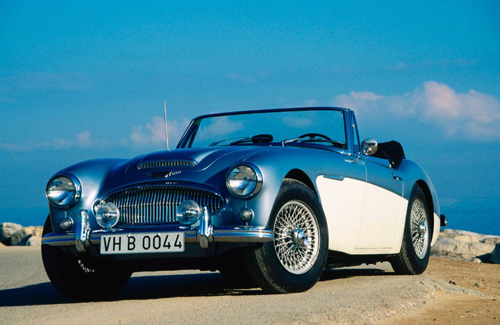 Stock Photo: 1566-0148228 Austin-Healey MK 3000