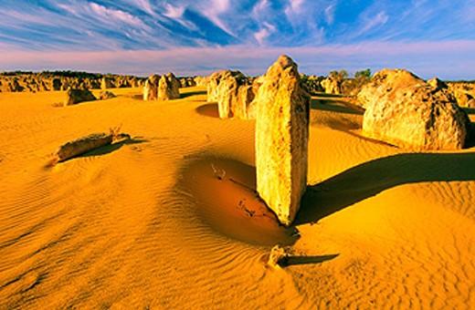 The Pinnacles. Nambung National Park. Western Australia : Stock Photo