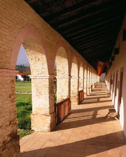 Mission San Antonio de Padua, founded 1771. Monterey County. California. USA : Stock Photo