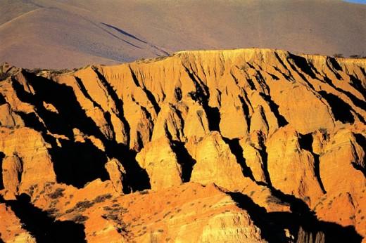Rock formations. Humauaca. Argentina : Stock Photo