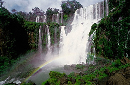 Iguazu Falls. Argentina - Brazil border : Stock Photo