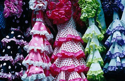 Stock Photo: 1566-0152611 Traditional costume of Andalusia. Cordoba. Spain