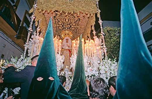 Holy Week. Sevilla. Spain : Stock Photo