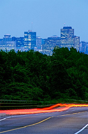Cars and Cityscape : Stock Photo