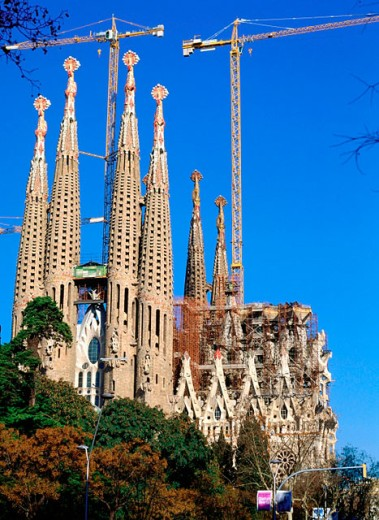 Sagrada Familia. Barcelona. Spain : Stock Photo