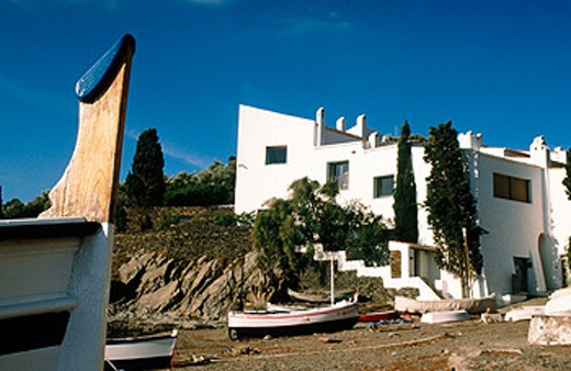 Salvador Dali´s house. Portlligat. Cataluña. Spain : Stock Photo