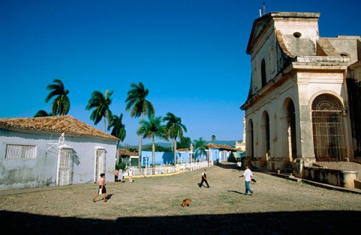 Plaza Mayor. Trinidad. Cuba : Stock Photo