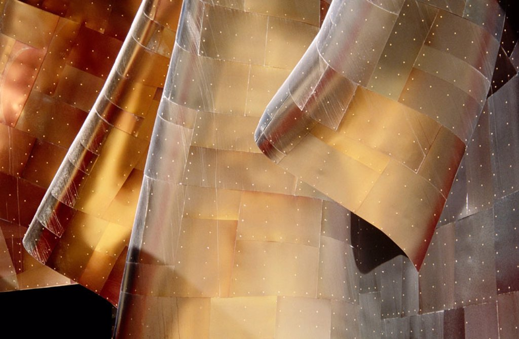 Experience Music Project, interactive music museum built by Frank O. Gehry. Seattle. Washington. USA : Stock Photo