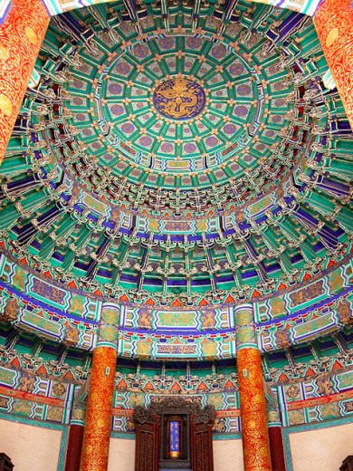 The Vault of Heaven. The Temple of Heaven. Beijing. People´s Republic of China : Stock Photo