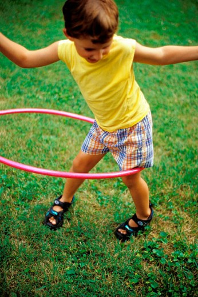 Stock Photo: 1566-0157897 hula hoop