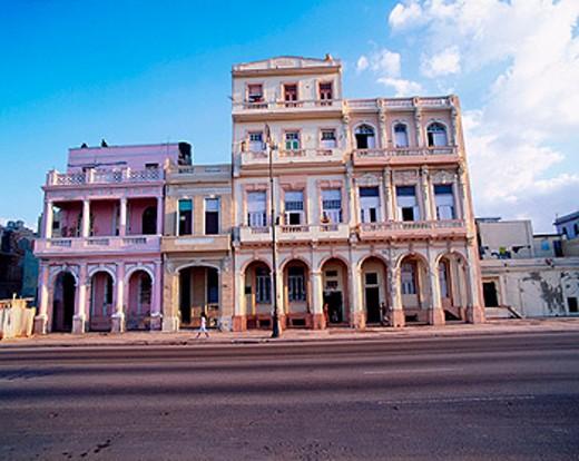 ´El Malecon´ quarter. Havana. Cuba : Stock Photo