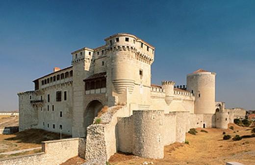 Castle of Cuéllar. Segovia province. Spain : Stock Photo